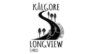Kilgore to Longview Run Logo