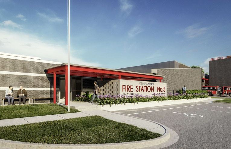 Fire Station 5 Rendering